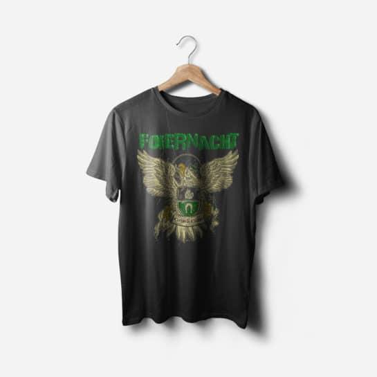 Vorderseite Foiernacht Shirt Adler