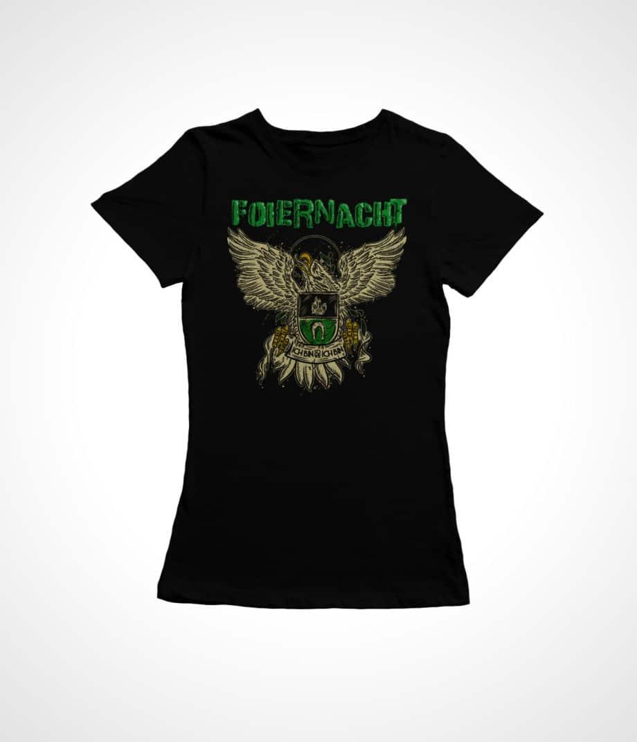 Foiernacht Frauen Shirt Adler