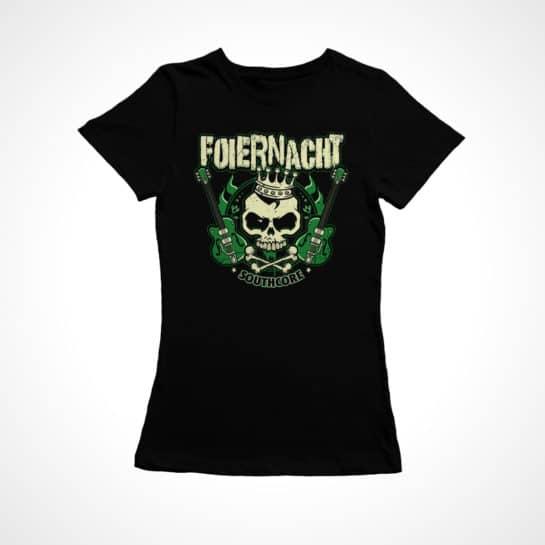 Foiernacht Gitarre Frauen Shirt