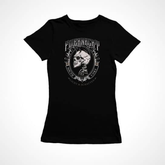 Foiernacht Frauen Shirt Licht und Schatten