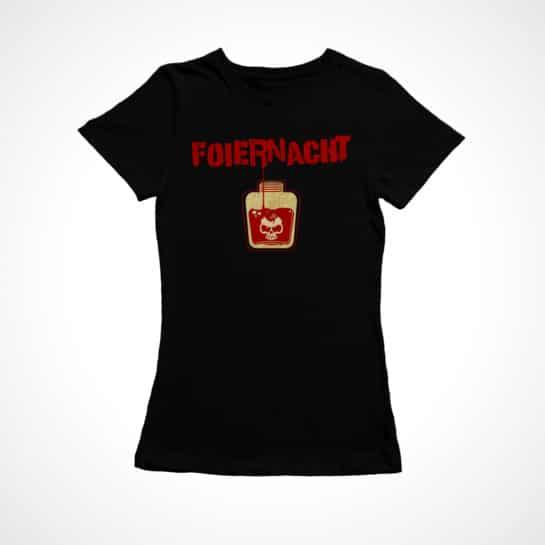 Foiernacht Frauen Shirt ...Mit meinem Blut geschrieben