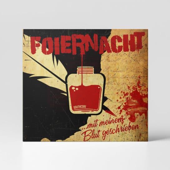 Foiernacht Mit meinem Blut geschrieben Album