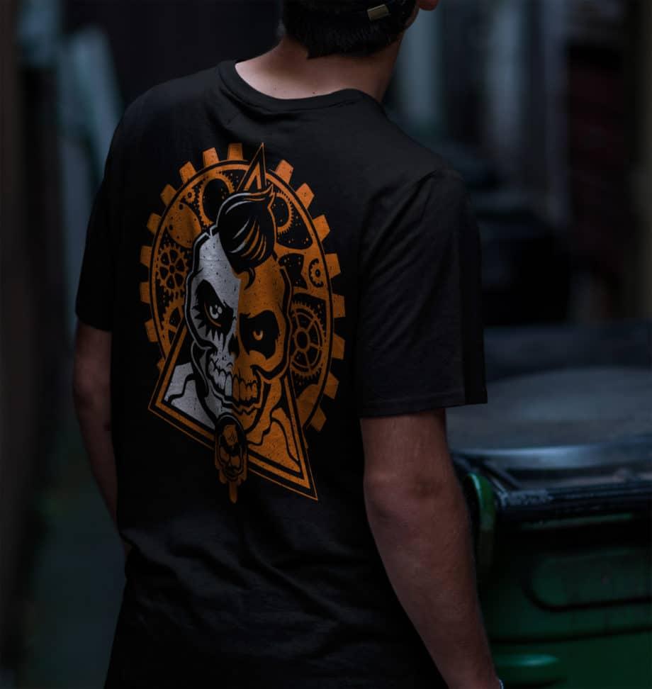 Foiernacht Clockwork Shirt Rückseite