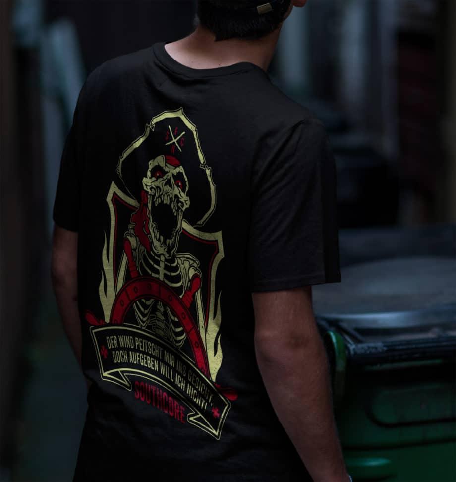 Foiernacht Pirat Shirt Rückseite