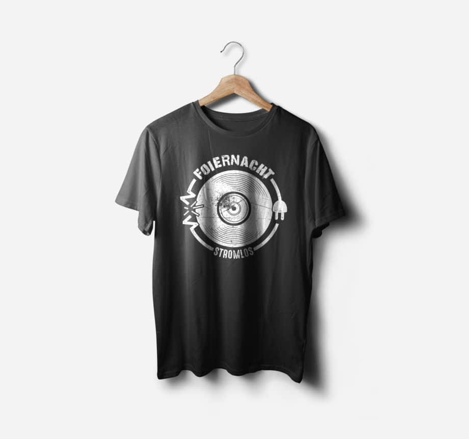 Foiernacht Shirt Stromlos Vinyl