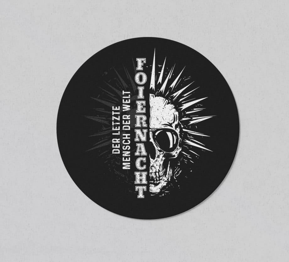 Foiernacht Der letzte Mensch der Welt Sticker